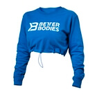 Madison Cropped L/S, straight blue, Better Bodies