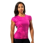 Performance Cut Tee, pink print, Better Bodies