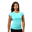 Performance Cut Tee, light aqua, Better Bodies