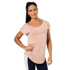 Gracie Tee, peach beige, Better Bodies