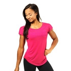 Gracie Tee, hot pink, Better Bodies