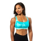Fitness Short Top, aqua print, Better Bodies