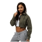 Astoria Cropped Hood, wash green, Better Bodies