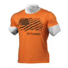 BB Street Tee, wash orange, Better Bodies