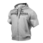 Raw S/L Hood, grey melange, Better Bodies
