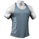 Symbol Printed T-back, ocean blue, Better Bodies