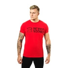 Symbol Printed Tee, bright red, Better Bodies