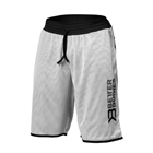 BB Print Mesh Shorts, white/black, Better Bodies