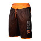 BB Print Mesh Shorts, black/orange, Better Bodies