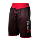 BB Print Mesh Shorts, black/red, Better Bodies