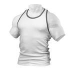 Men's Rib T-Back, white, Better Bodies