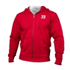 Jersey Hoodie, bright red, Better Bodies