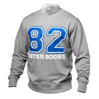 Jersey Sweatshirt, grey melange, Better Bodies