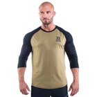 Men's Baseball Tee, military green, Better Bodies