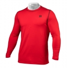 Performance Long Sleeve, bright red, Better Bodies