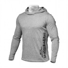 Mens Soft Hoodie, grey melange, Better Bodies