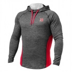 Performance Mid Hood, graphite/red, Better Bodies