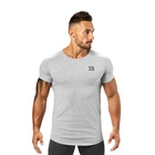 Hudson Tee, grey melange, Better Bodies