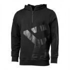 Brooklyn Zip Hood, black/grey, Better Bodies