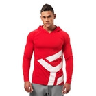 Astor Ls Hoodie, bright red, Better Bodies