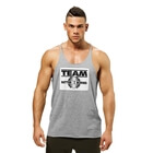 Team Bb Raw Cut Tank, greymelange, Better Bodies