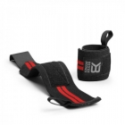 Elastic Wrist Wraps, black/red, Better Bodies