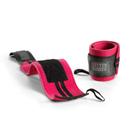 Womens Wrist Wraps, hot pink, Better Bodies