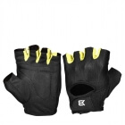 Womens Training Glove, black/lime, Better Bodies