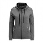 Deona Hooded Jacket, deep black melange, Björn Borg