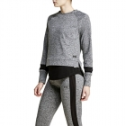 Calista Long Sleeve Sweatshirt, new black melange, Björn Borg