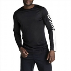 Aaron Long Sleeve Tee, black beauty, Björn Borg