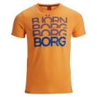 Shane S/S Tee, orange pop, Björn Borg