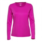 Base L/S Tee, knockout pink, Daily Sports