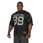 No1 Football Tee, black, GASP