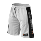 NO1 Mesh Shorts, white/black, GASP