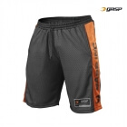NO1 Mesh Shorts, black/flame, GASP