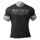 BRANCH SPP Rough Tee, black, GASP