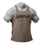 Deep Cut Slub Tank, wash green, GASP