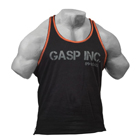 Division Jersey Tank, black/flame, GASP