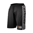 Raw Mesh Shorts, black/grey, GASP