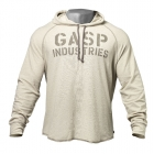 Long Sleeve Thermal Hoodie, cement, GASP