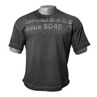 HL Yoke Tee, wash black, GASP