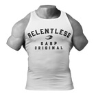Relentless Tank, white, GASP
