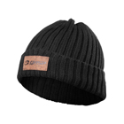 Heavy Knitted Hat, black, GASP