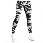 Camo 2-Color Tights, grey camo, Nebbia