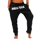 Drop Crotch Pants, black, Nebbia
