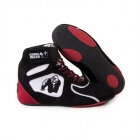 Chicago High Tops LTD, black/white/red, Gorilla Wear