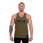 Classic Tank Top, army green, Gorilla Wear