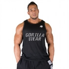 New York Mesh Tanktop, svart, Gorilla Wear