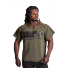 Classic Workout Top, army green, Gorilla Wear